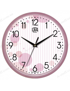 """Wall clock """"Circles on the strips"""""""