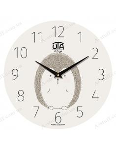 "Clock for wall ""Hedgehog"""