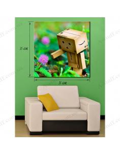Painting BRobot Paper Box