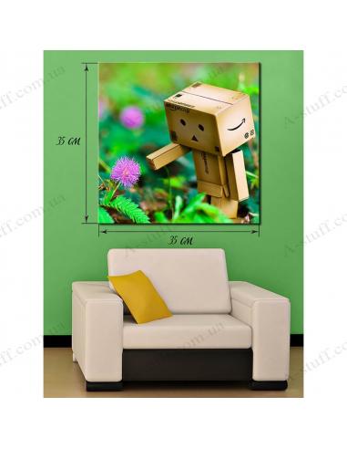 Картина Робот Паперова коробка
