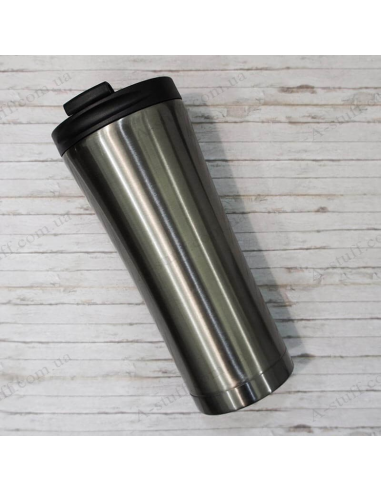 "Thermocup metal ""Dark Steel"""