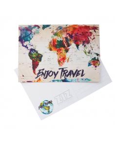 "Postcard ""Map"""