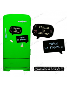 "Magnetic chalk board ""Chat"""