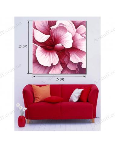 """Картина """"Рожеві квіти"""""""