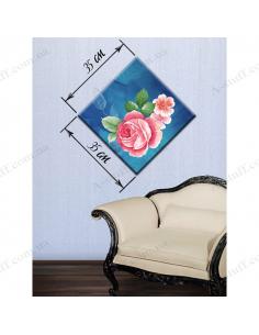"""Картина """"Квіти на синьому"""""""