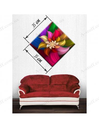 """Картина """"Квітка - семибарвиця"""""""