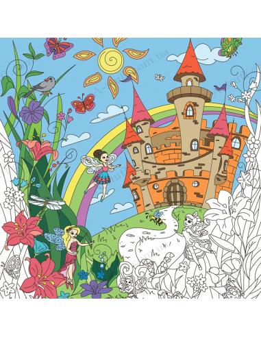 Раскраска XL «Сказочные феи»