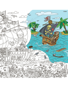 "Coloring XL ""Pirates: At World's End"""