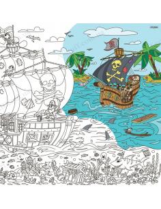 Розмальовка XL «Пірати: на краю світу»