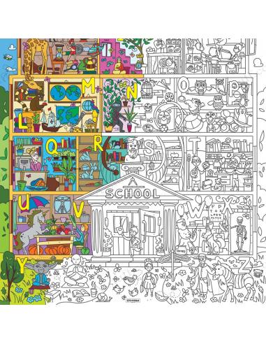Раскраска XL «Супер School»