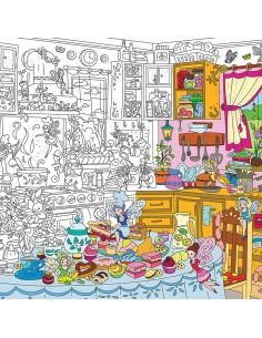 Раскраска XL «Кухонные феи»
