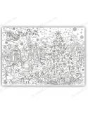 Розмальовка XL «Лапландія»