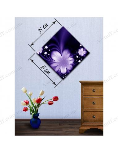 """Картина """"Фіолетова абстракція"""""""