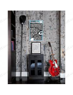 """Мотиваційний скретч - постер """"100 СПРАВ TRUEMAN Edition"""""""