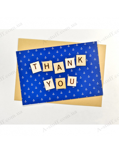 "Postcard ""Thank you"""