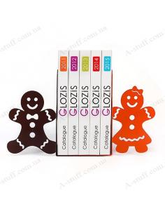 """Тримачі для книг """"Gingerbread"""""""