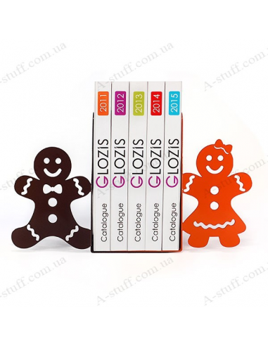 "Bookends ""Gingerbread"""