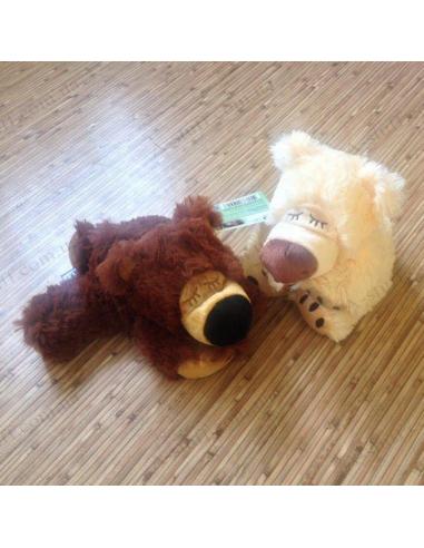 """М'яка іграшка грілка """"Сплячий ведмедик"""""""