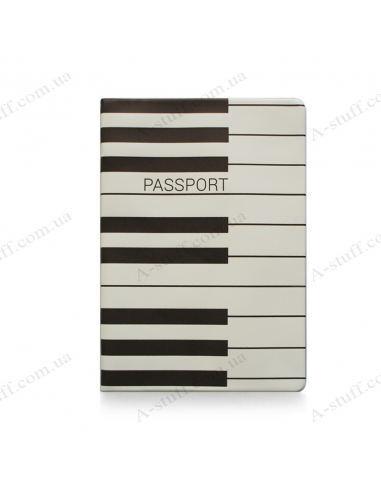 "Cover on the passport ""Piano"""