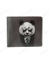 """Wallet """"Panda in a jacket"""""""