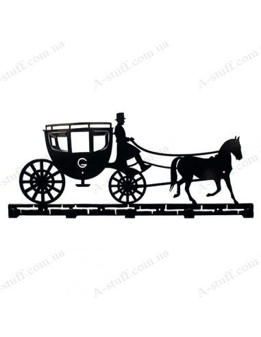 "Вішалка настінна ""Carriage"""