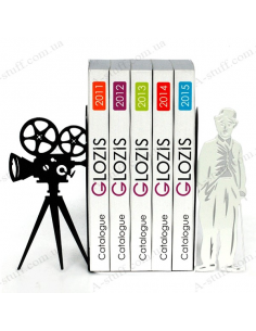 "Bookends ""Chaplin"""