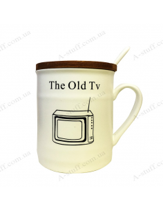 """Cup with a lid """"Classics"""""""