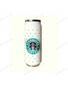 "Glass jar ""Starbucks"""
