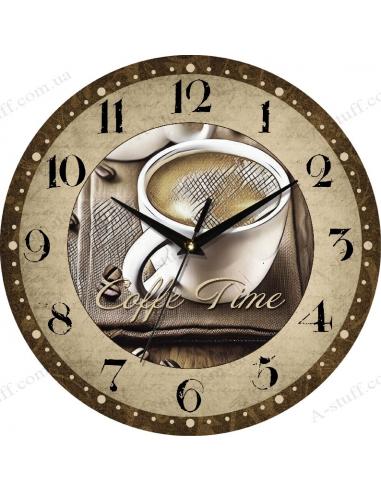 """Годинник настінний """"Coffe Time"""""""