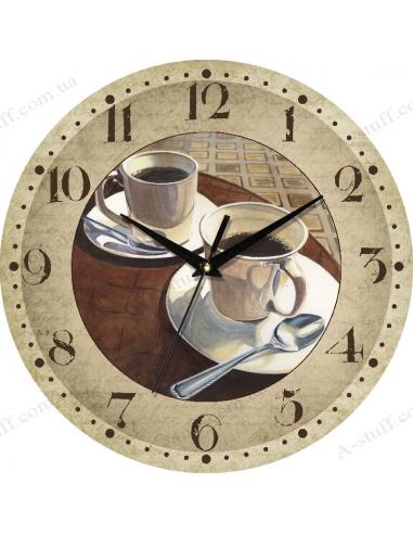"""Часы настенные """"2 Espresso cup"""""""