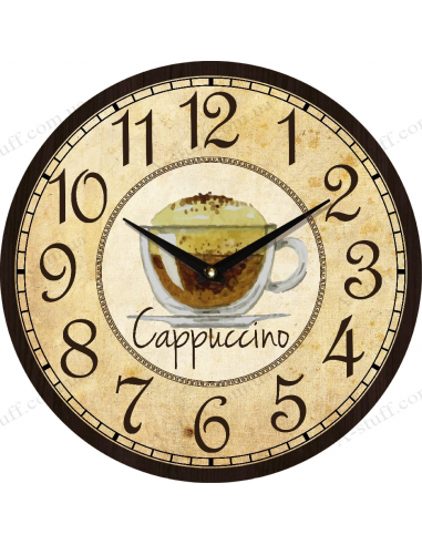 """Clock for wall """"Cappuccino"""""""