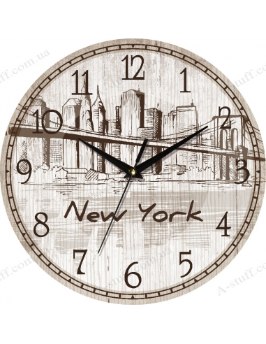 """Clock for wall """"New York"""""""