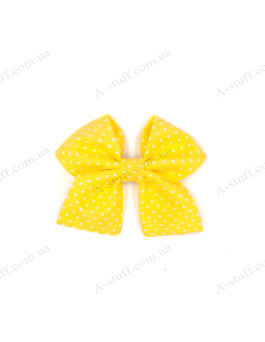 "Hair bow ""Yellow"""