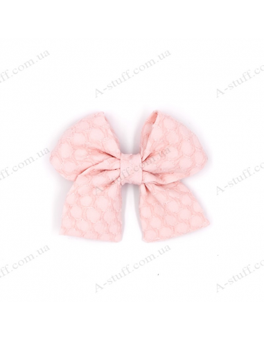 "Hair bow ""Pink Pattern"""