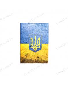 "Cover on the passport ""Ukraine"""