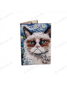 """Cover on the passport  """"Van cat"""""""