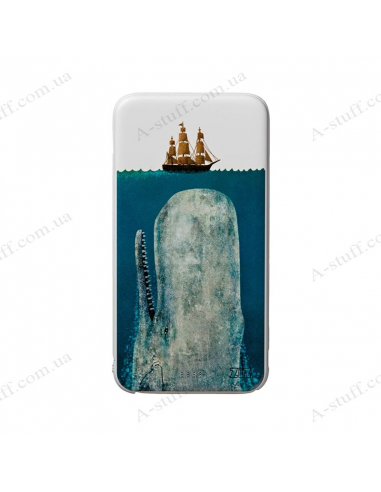 "Power Bank 5000 mAh ""Whale and ship"""