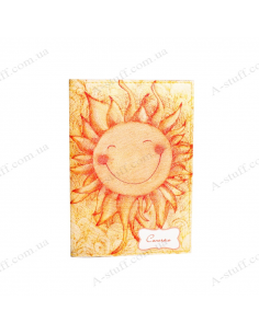 "Cover on the passport  ""Sun"""