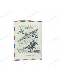 """Cover on the passport """"Airmail"""""""