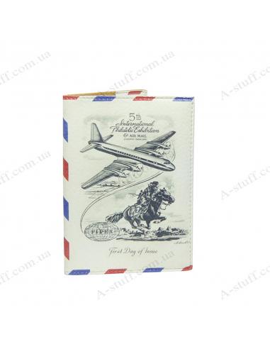 "Обкладинка на паспорт ""Airmail"""