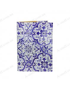 "Cover on the passport ""Azulejo"""