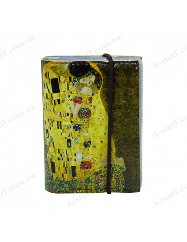 "Card holder of eco-leather ""Klimt"""