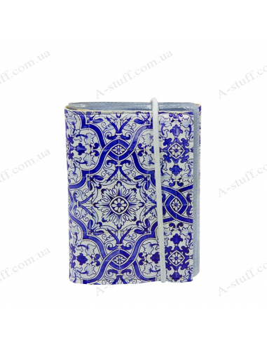 "Card holder of eco-leather ""Azulejo"""