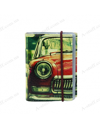 "Card holder of eco-leather ""Minicooper"""