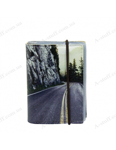 "Card holder of eco-leather ""Road 2"""