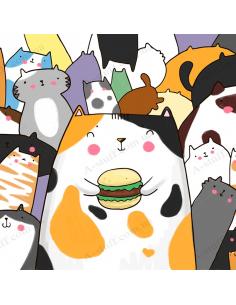 "Pocket Coloring ""Catworld"""