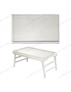 """Table - tray for breakfast """"White"""""""