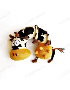 """Подушка під шию """"Корова Усім Здорова"""""""