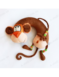 "Pillow under the neck ""WoW Monkey"""