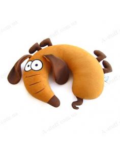 """Pillow under your neck """"Blot Dachshund"""""""